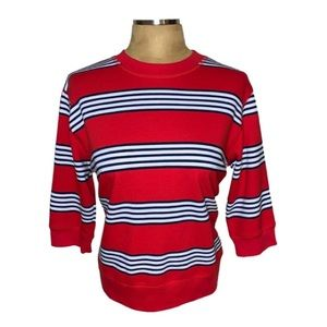 🌸Catalina striped sweatshirt